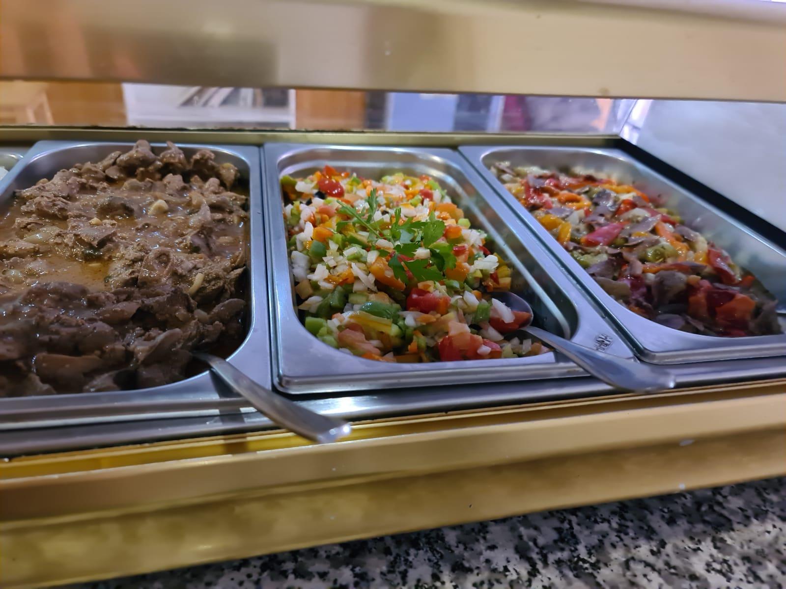 Carne en salsa en Bar Ocho